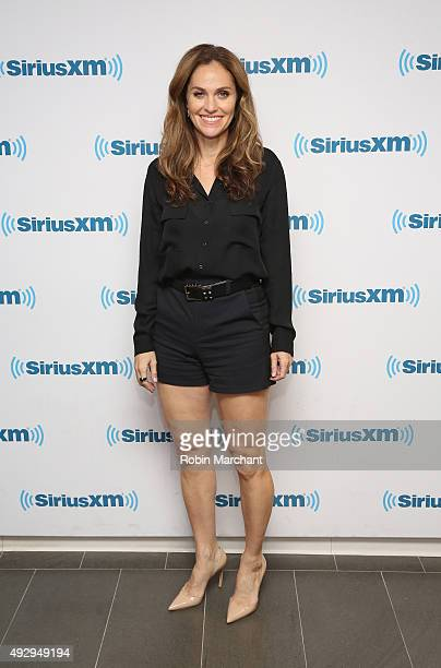 Amy Brenneman visits at SiriusXM Studios on October 16 2015 in New York City