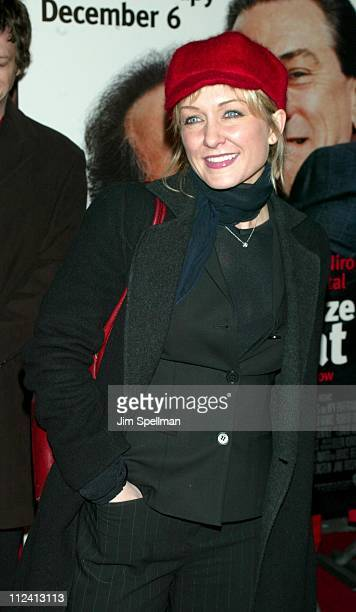 Amy Carlson during 'Analyze That' World Premiere Arrivals at The Ziegfeld Theatre in New York City New York United States