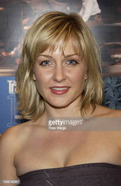 Amy Carlson during Conde Nast Traveler Celebrates 15th Anniversary with photo exhibit at the American Museum of Natural History at Museum of Natural...
