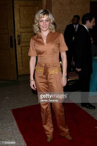 Amy Carlson during Creative Coalition's 'Seconding the First' Gala Benefit Concert at Hammerstein Ballroom in New York City New York United States