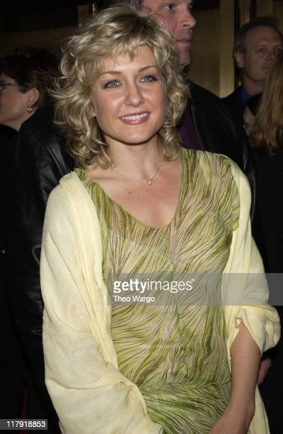 Amy Carlson during NBC Introduces Five New Series as Part of NBC's 200203 Schedule at Radio City Music Hall in New York City New York United States