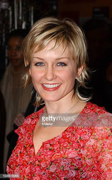 Amy Carlson during 'The Rookie' New York City Premiere at Astor Plaza Theatre in New York City New York United States