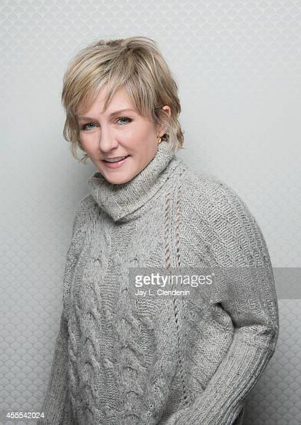 Amy Carlson is photographed for Los Angeles Times on January 18 2014 in Park City Utah PUBLISHED IMAGE CREDIT MUST READ Jay L Clendenin/Los Angeles...