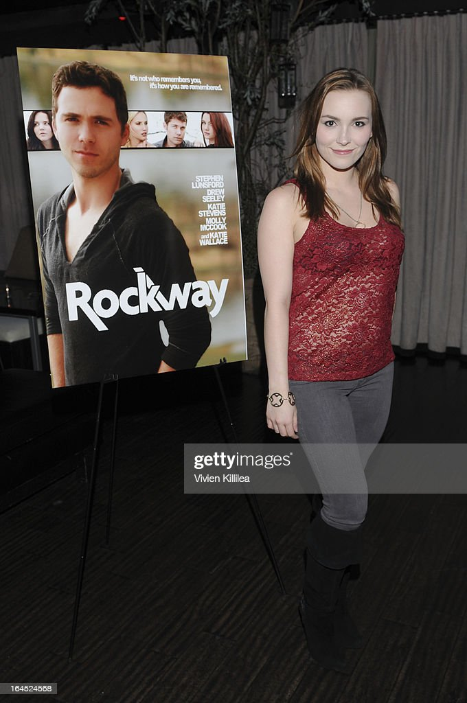 Amy Castle attends Rock Way Fundraiser at Beso on March 23, 2013 in Hollywood, California.