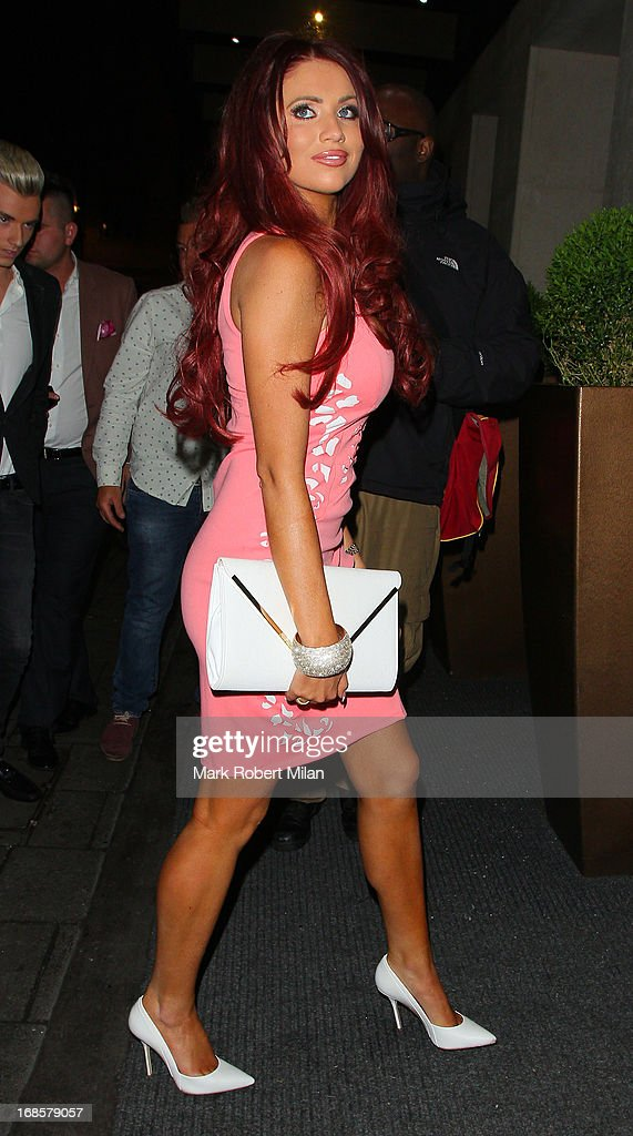 Amy Childs at the May Fair hotel on May 11, 2013 in London, England.