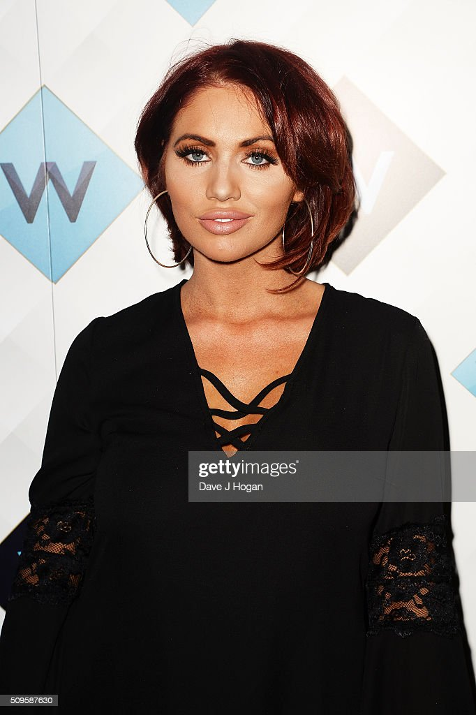 <a gi-track='captionPersonalityLinkClicked' href=/galleries/search?phrase=Amy+Childs&family=editorial&specificpeople=7306054 ng-click='$event.stopPropagation()'>Amy Childs</a> attends a celebration of the new TV channel 'W,' launching on Monday 15th February, at Union Street Cafe on February 11, 2016 in London, England.