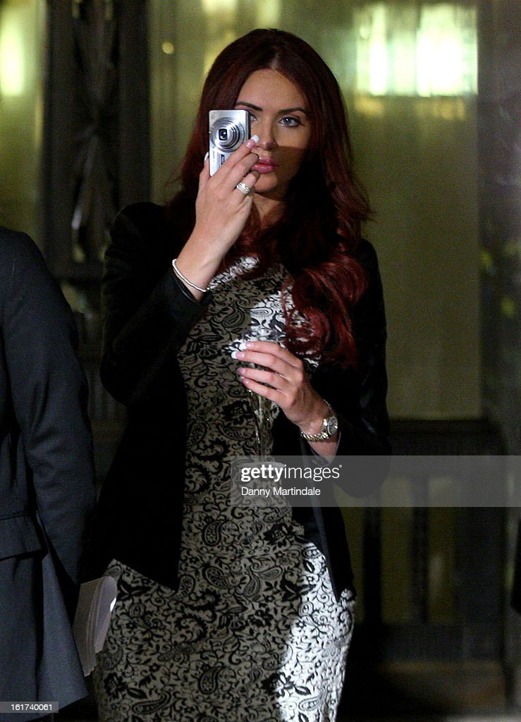 <a gi-track='captionPersonalityLinkClicked' href=/galleries/search?phrase=Amy+Childs&family=editorial&specificpeople=7306054 ng-click='$event.stopPropagation()'>Amy Childs</a> attends the Apu Jan show during London Fashion Week Fall/Winter 2013/14 at Freemasons Hall on February 15, 2013 in London, England.