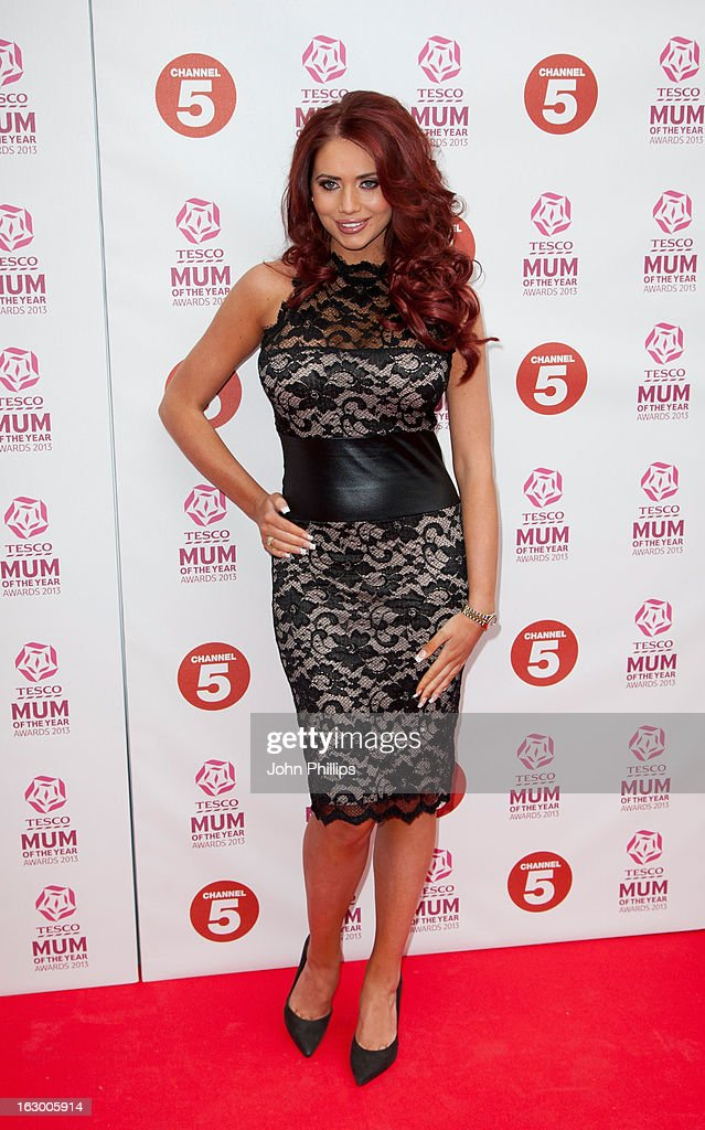 <a gi-track='captionPersonalityLinkClicked' href=/galleries/search?phrase=Amy+Childs&family=editorial&specificpeople=7306054 ng-click='$event.stopPropagation()'>Amy Childs</a> attends the Tesco Mum of the Year awards at The Savoy Hotel on March 3, 2013 in London, England.