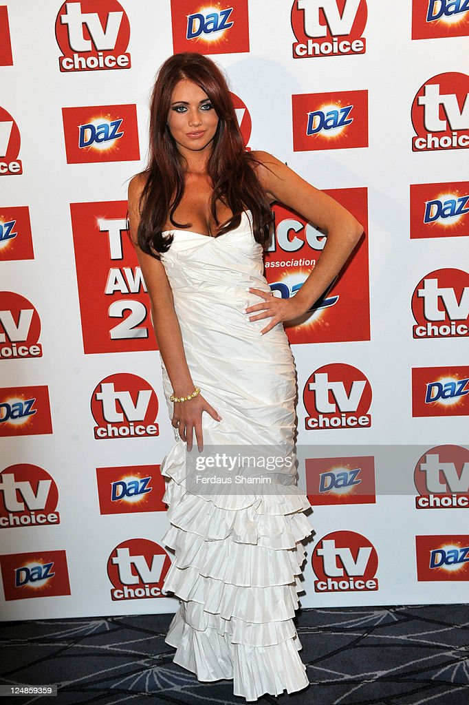 Amy Childs attends the The TVChoice Awards 2011 at The Savoy Hotel on September 13 2011 in London England