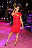 Amy Childs attends the UK Premiere of 'How To Be Single' at Vue West End on February 9 2016 in London England