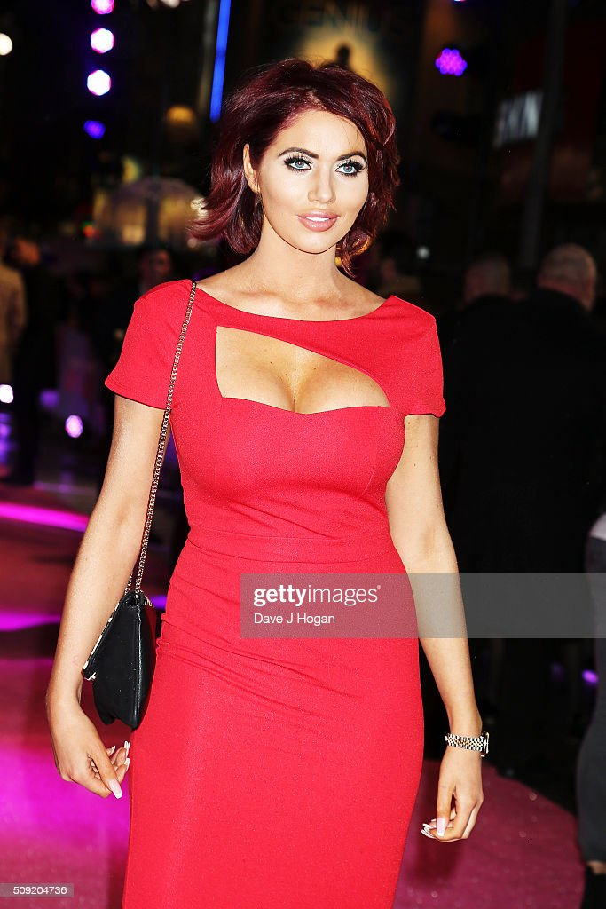 <a gi-track='captionPersonalityLinkClicked' href=/galleries/search?phrase=Amy+Childs&family=editorial&specificpeople=7306054 ng-click='$event.stopPropagation()'>Amy Childs</a> attends the UK Premiere of 'How To Be Single' at Vue West End on February 9, 2016 in London, England.