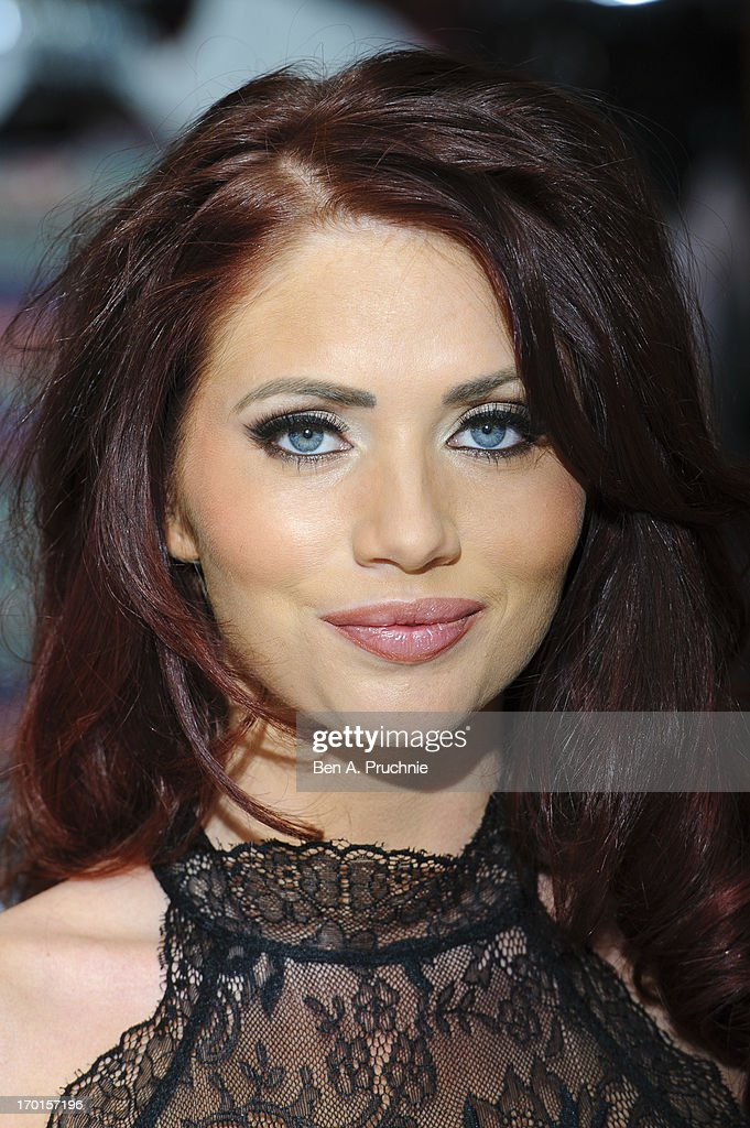 Amy Childs meets fans and signs merchandise to celebrate the launch of her clothing range with BANK at Lakeside Shopping Centre on June 8 2013 in...