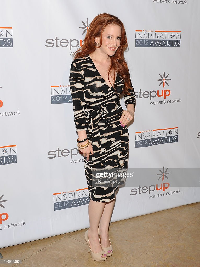 Amy Davidson attends the StepUp Women's Network 9th Annual Inspiration Awards at The Beverly Hilton Hotel on June 8, 2012 in Beverly Hills, California.