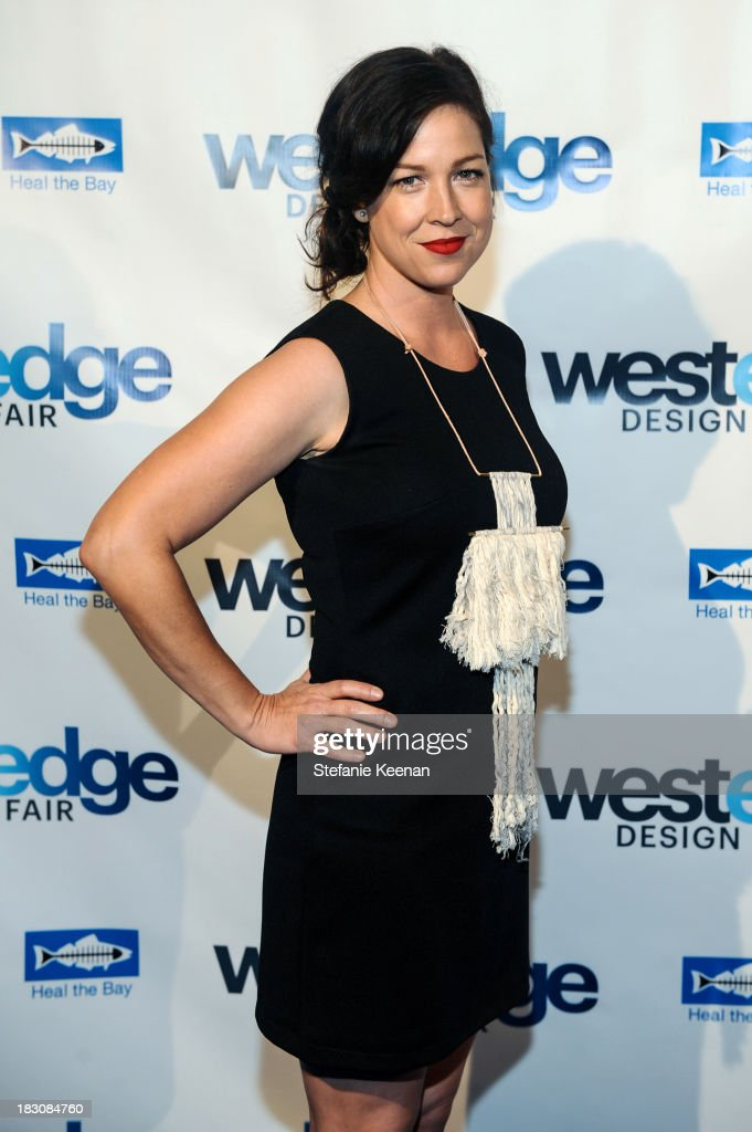 Amy Devers attends WestEdge Design Fair at Barker Hangar on October 3, 2013 in Santa Monica, California.