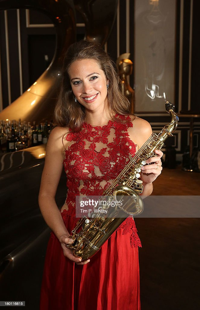 Amy Dickson attends a photocall to launch the 2013 Classic Brit Awards at Home House on September 9, 2013 in London, England. The Classical Brits takes place on October 2, 2013 and is presented by Myleene Klass for the sixth year running.
