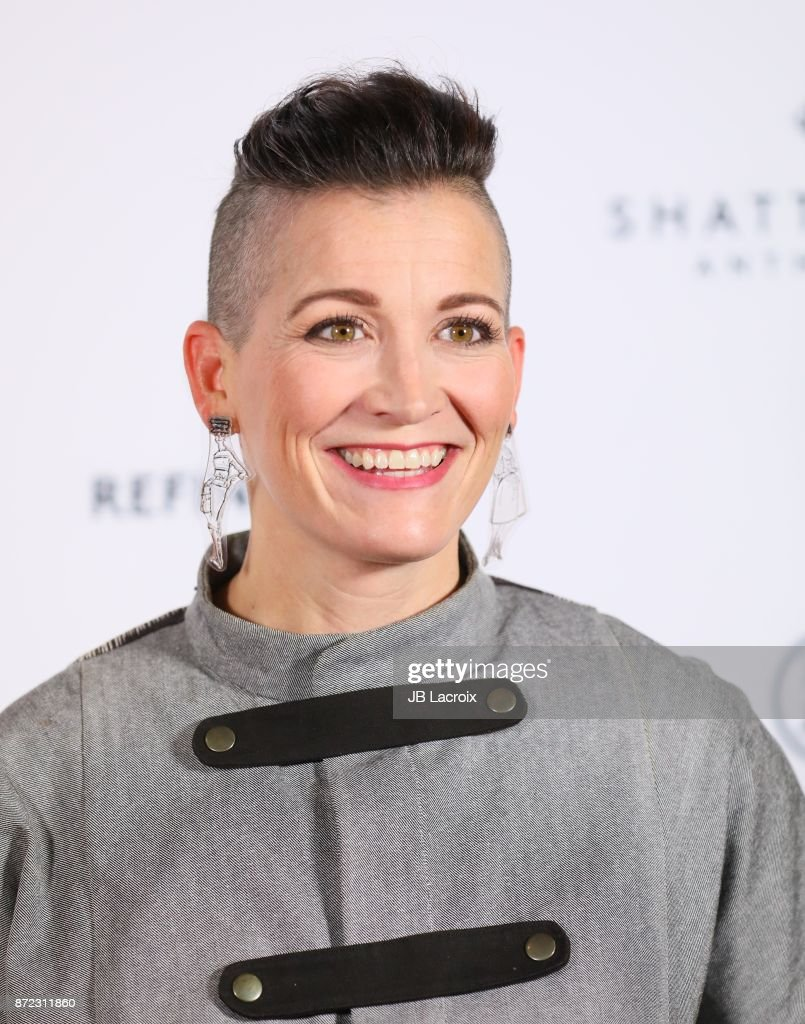 Amy Emmerich attends the premiere of Starlight Studios and Refinery29's 'Come Swim' on November 9, 2017 in Los Angeles, California.