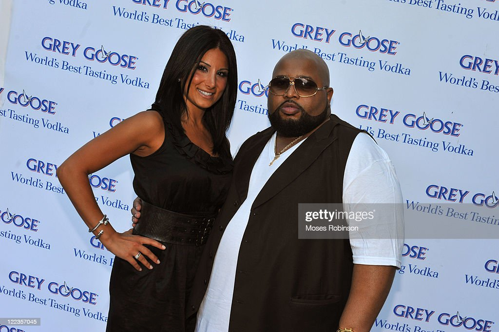 Amy Eslami and <a gi-track='captionPersonalityLinkClicked' href=/galleries/search?phrase=Jazze+Pha&family=editorial&specificpeople=715918 ng-click='$event.stopPropagation()'>Jazze Pha</a> attend the Grey Goose summer soiree on July 1, 2010 in Atlanta, Georgia.