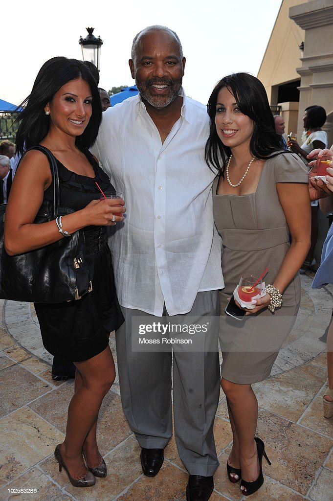 Amy Eslami, Reuben Gibson and Stephanie Fleitas attend the Grey Goose summer soiree on July 1, 2010 in Atlanta, Georgia.