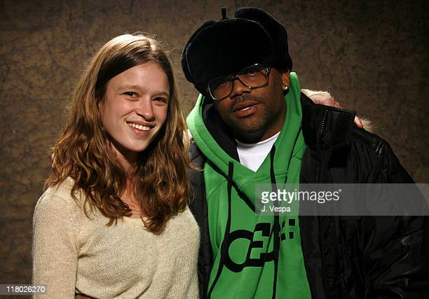 Amy Ferguson and Damon Dash during 2007 Sundance Film Festival 'Weapons' Portraits at Delta Sky Lodge in Park City Utah United States