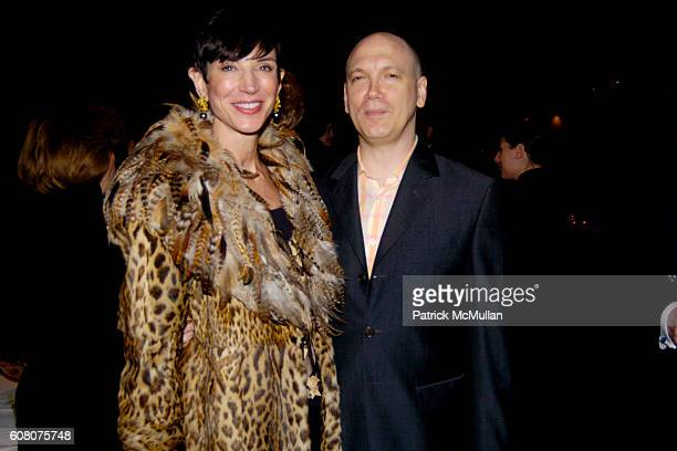 Amy Fine Collins and Charles Busch attend PHILIPPE DE MONTEBELLO and THE METROPOLITAN MUSEUM OF ART Celebrate the Opening of the Exhibition NAN...
