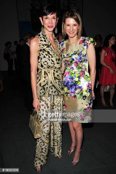 Amy Fine Collins and Lizzie Tisch attend JONATHAN TISCH 'Citizen You' Book Launch Party at The Museum of Modern Art on May 6 2010 in New York City