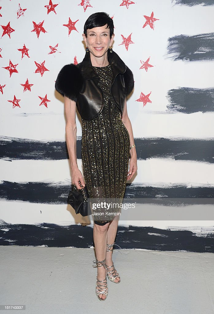 Amy Fine Collins attends Alice + Olivia By Stacey Bendet Spring 2013 Mercedes-Benz Fashion Week at Century 548 on September 10, 2012 in New York City.