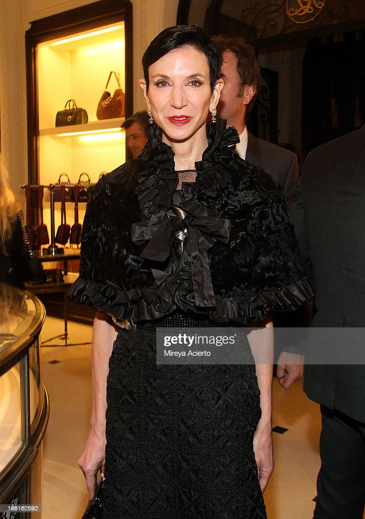 Amy Fine Collins attends as Ralph Lauren Presents Exclusive Screening Of Hitchcock's To Catch A Thief Celebrating The Princess Grace Foundation at Ralph Lauren Women's Store on October 28, 2013 in New York City.