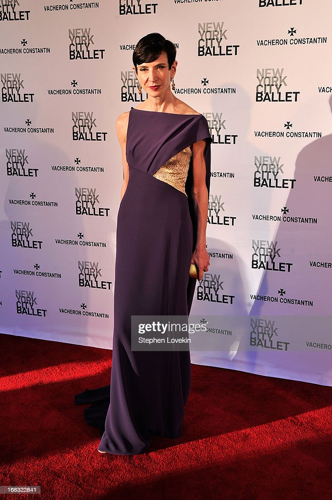 Amy Fine Collins attends New York City Ballet's Spring 2013 Gala at David H. Koch Theater, Lincoln Center on May 8, 2013 in New York City.