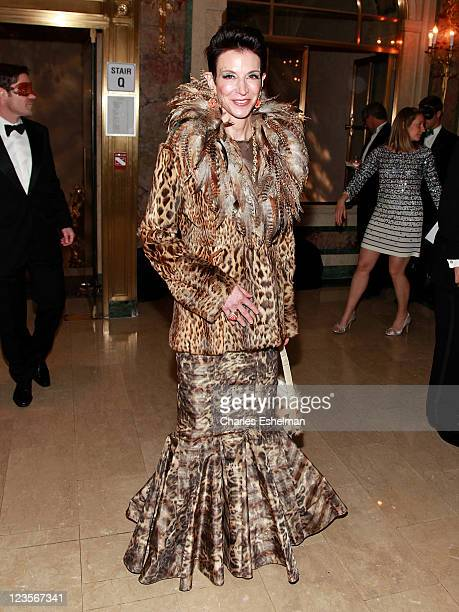 Amy Fine Collins attends Save Venice 2011 Un Ballo in Maschera at the Grand Ballroom at The Plaza Hotel on March 15 2011 in New York City
