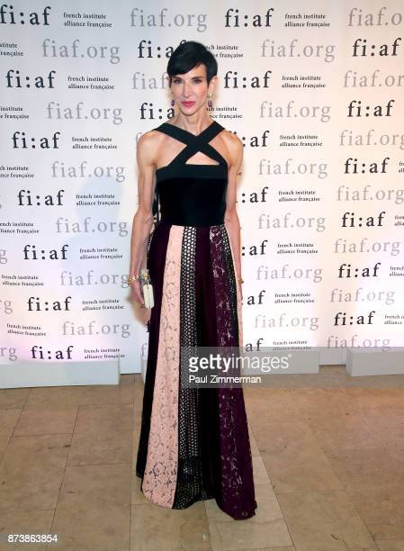 Amy Fine Collins attends the 2017 Trophee Des Arts Awards Gala at The Plaza Hotel on November 13 2017 in New York City