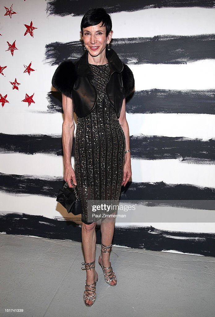 <a gi-track='captionPersonalityLinkClicked' href=/galleries/search?phrase=Amy+Fine+Collins&family=editorial&specificpeople=241319 ng-click='$event.stopPropagation()'>Amy Fine Collins</a> attends the Alice + Olivia By Stacey Bendet show during Spring 2013 Mercedes-Benz Fashion Week at Century 548 on September 10, 2012 in New York City.