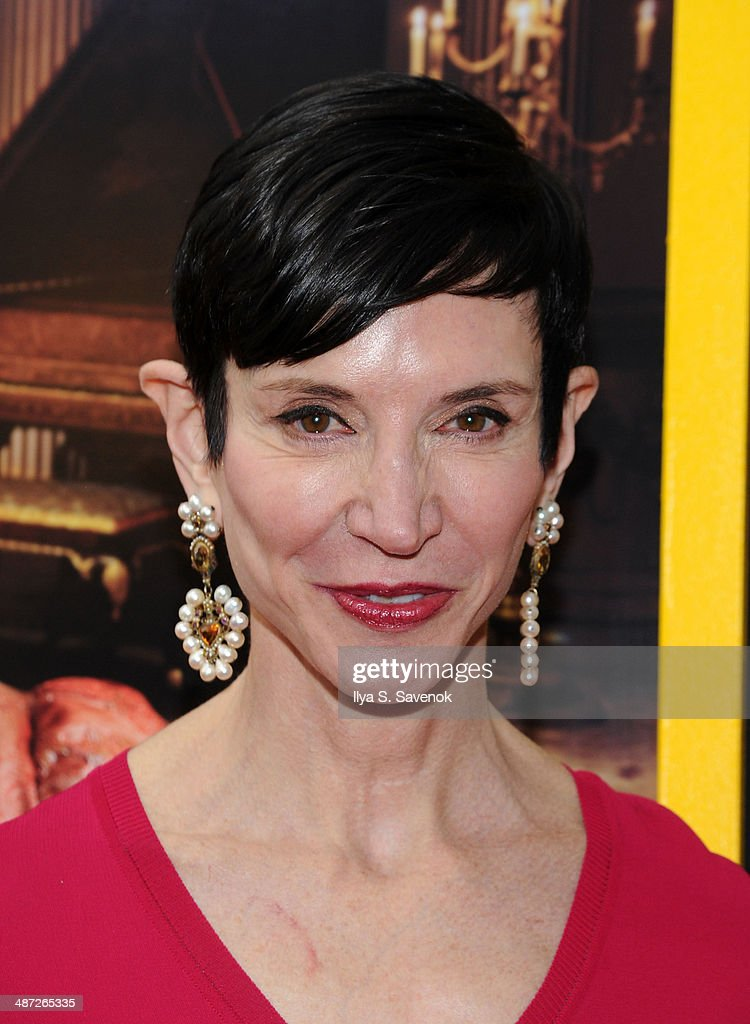 Amy Fine Collins attends the 'Belle' premiere at The Paris Theatre on April 28 2014 in New York City