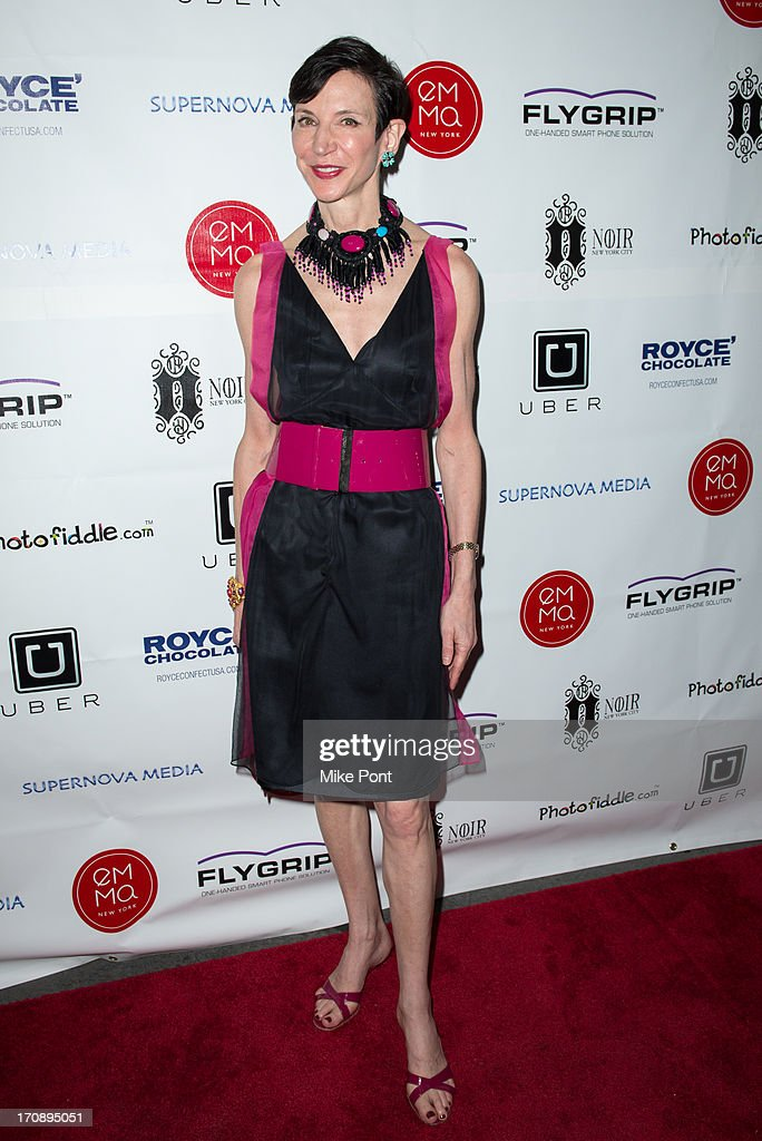 Amy Fine Collins attends The Inaugural St. Jude Spring Social at Noir NYC on June 19, 2013 in New York City.