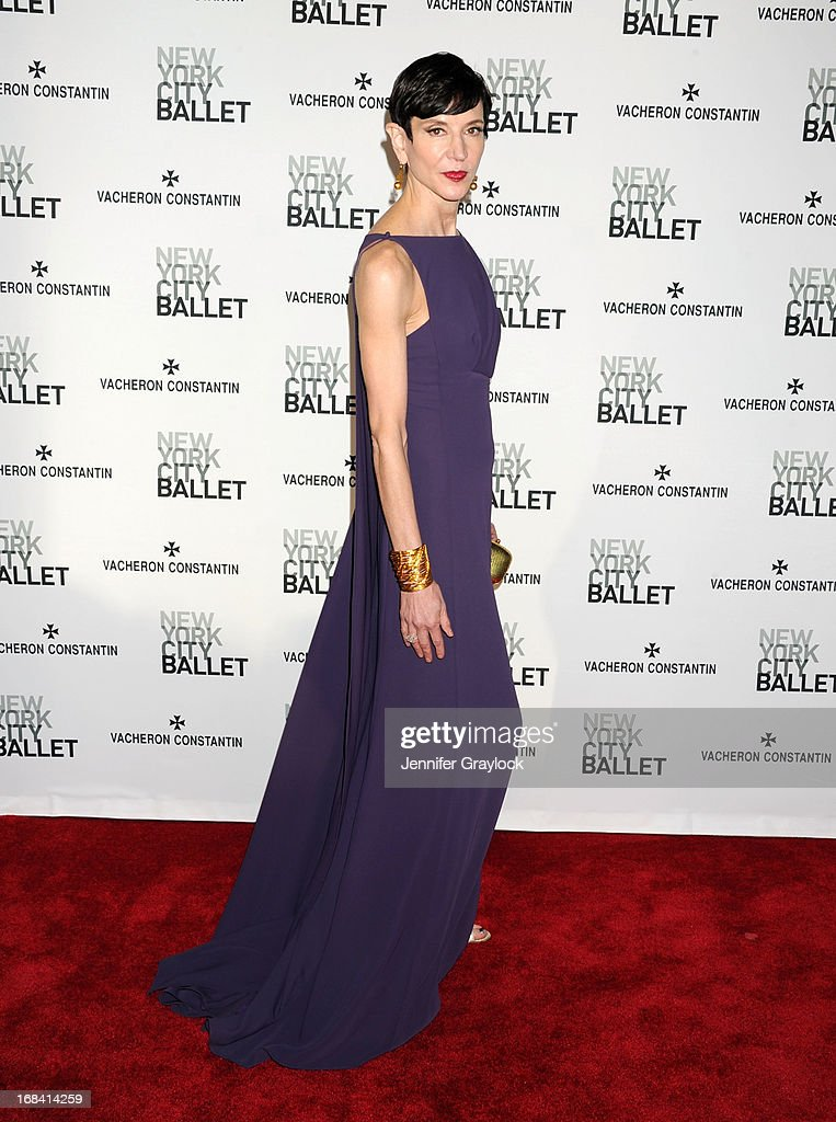 Amy Fine Collins attends the New York City Ballet's Spring 2013 Gala at David H. Koch Theater, Lincoln Center on May 8, 2013 in New York City.