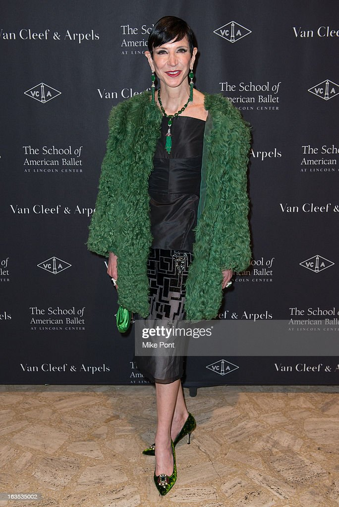Amy Fine Collins attends the School of American Ballet 2013 Winter Ball at David H. Koch Theater, Lincoln Center on March 11, 2013 in New York City.