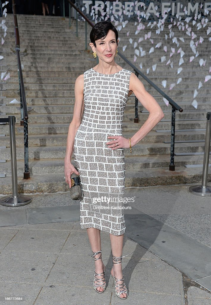 Amy Fine Collins attends Vanity Fair Party for the 2013 Tribeca Film Festival on April 16, 2013 in New York City.