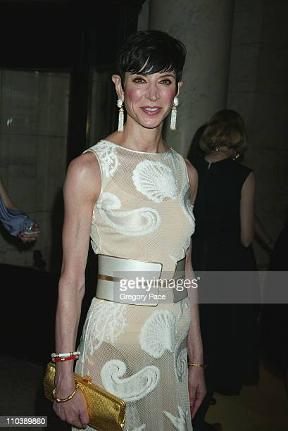 Amy Fine Collins during 2005 CFDA Fashion Awards Inside at New York Public Library in New York City New York United States
