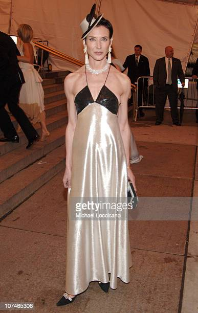 Amy Fine Collins during 'Chanel' Costume Institute Gala Opening at the Metropolitan Museum of Art Departures at The Metropolitan Museum of Art in New...