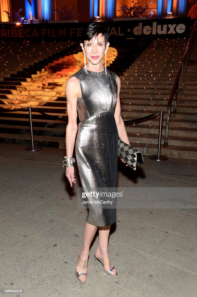 Amy Fine-Collins attends the Vanity Fair Party during the 2014 Tribeca Film Festival at the State Supreme Courthouse on April 23, 2014 in New York City.
