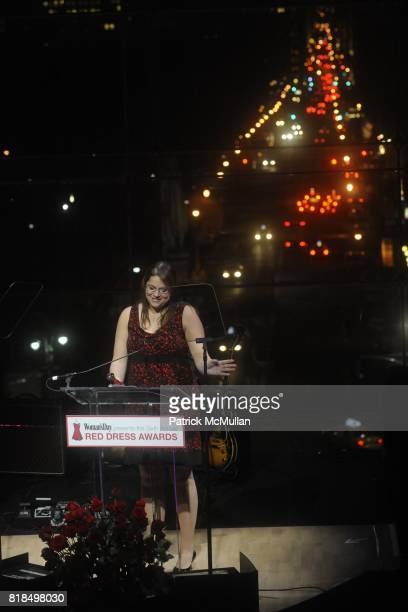 Amy Fischer attend Women's Day Presents the Sixth Annual Red Dress Awards at Jazz at Lincoln Center on February 11 2009 in New York City