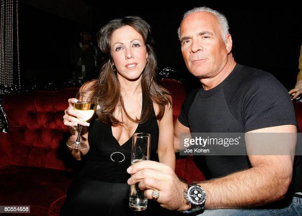 Amy Fisher and husband Lou Bellera attend the 'Amy Fisher Caught on Tape' release party held at Retox club on January 4 2008 in New York City