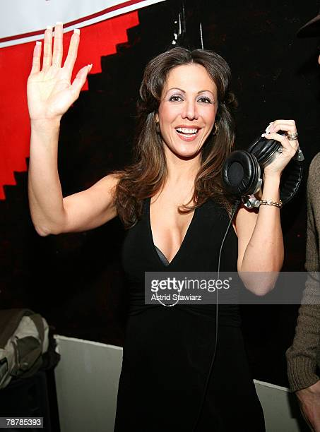 Amy Fisher Guest DJ's at club Retox on January 4 2008 in New York City