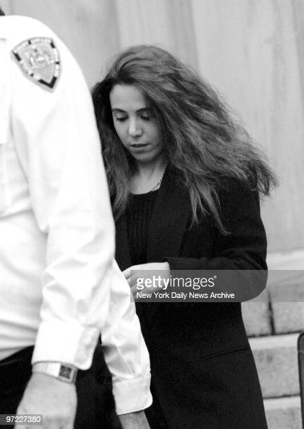 Amy Fisher leaves Nassau County Court after her bail hearing