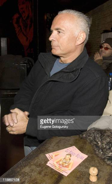 Amy Fisher's husband Lou Bellera as she discusses their sex tape 'Amy Fisher Caught on Tape' on January 4 2007 at Retox in New York City