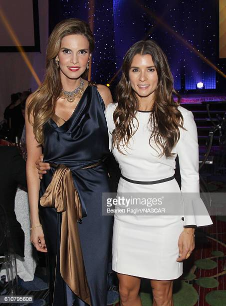 Amy France and Danica Patrick attend First Annual NASCAR Foundation Honors Gala on September 27 2016 in New York City