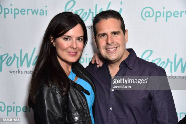 Amy Freeze and Skeery Jones attend PiperWai NYC Launch Event at Vnyl on May 24 2017 in New York City