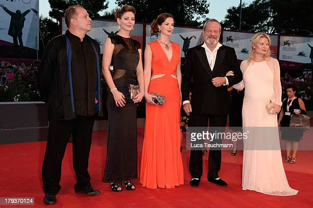 Amy Gilliam Holly Gilliam director Terry Gilliam and actress Melanie Thierry attend the 'The Zero Theorem' Premiere during the 70th Venice...