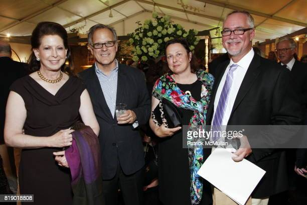 Amy Goldman John Danzer Rosita Trinca and Eric Groft attend The 18th Annual Antique Garden Furniture Show Preview Party Collector's Plant Sale at The...
