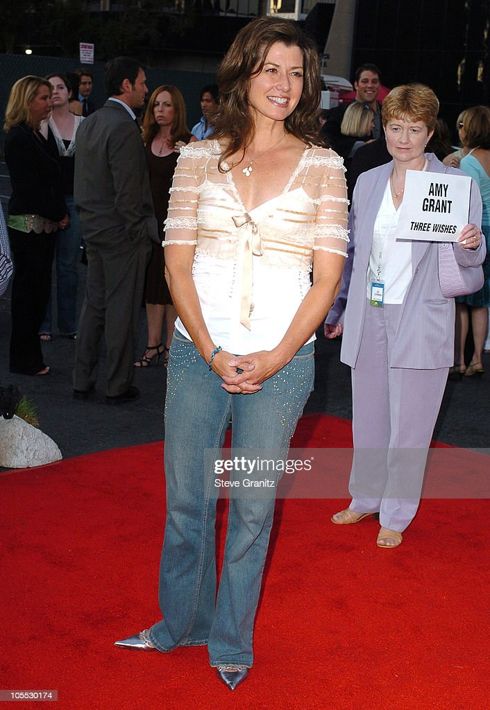 Amy Grant during 2005 NBC Network All Star Celebration Arrivals at Century Club in Los Angeles California United States