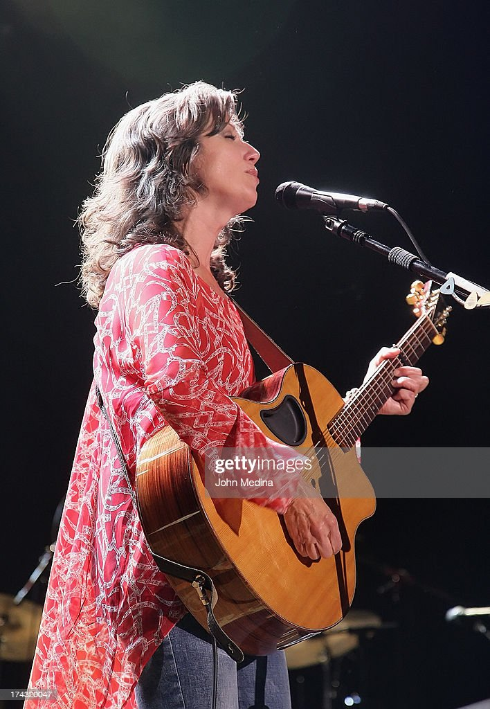 Amy Grant performs at San Jose Civic Auditorium on July 23, 2013 in San Jose, California.